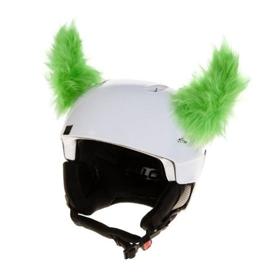 Picture of Crazy Ears Fluffy Horns - Green