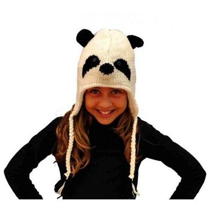 Picture of Pink Yak Panda Hat