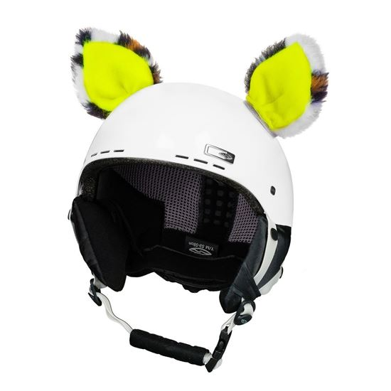 Picture of Crazy Ears - Cat Neon Yellow