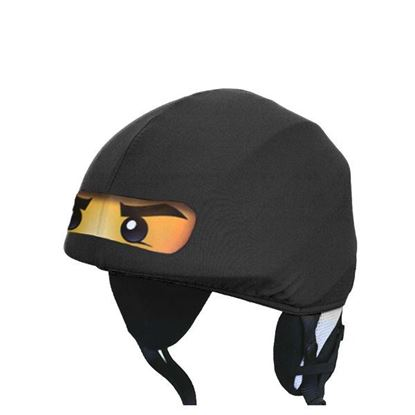 Picture of Evercover - Black Ninja Helmet Cover -