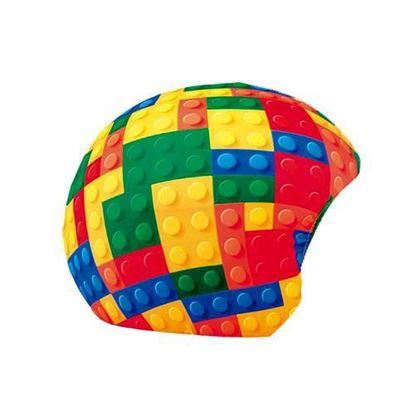 Lego Style Blocks Helmet Cover