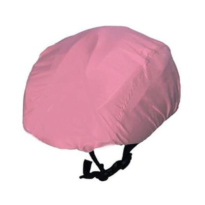 ROSE Pink WATERPROOF CYCLING HELMET COVER