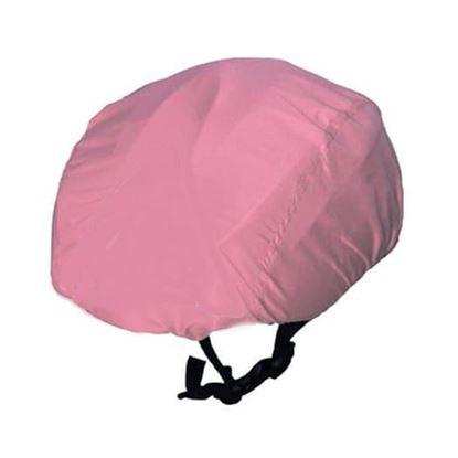 ROSE Pink WATERPROOF CYCLING HELMET COVER