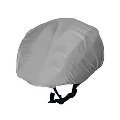 Grey Waterproof cycling helmet cover