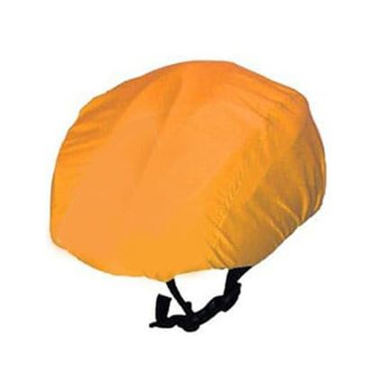 Vintage Orange Waterproof cycling helmet cover