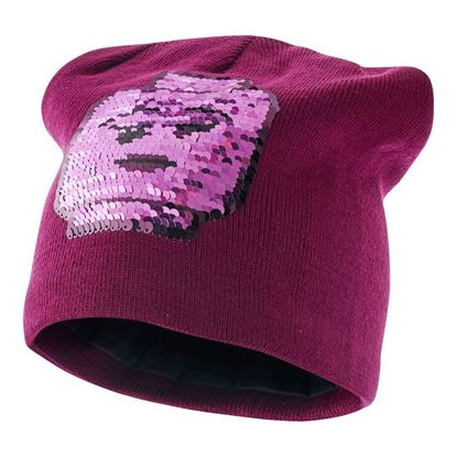 Lego wear Girls Knitted hat with flip sequins