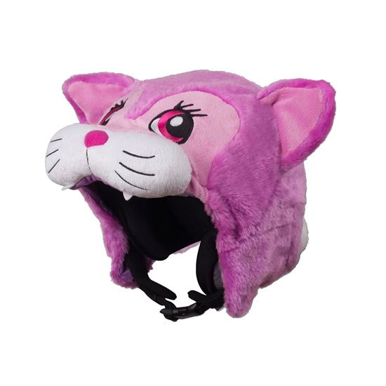 Hoxyheads Pink Pussycat Helmet Cover
