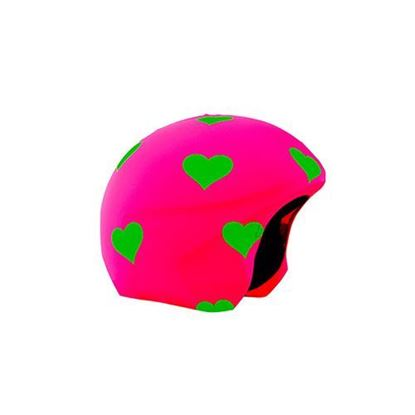 Coolcasc Foggy days Heart helmet cover