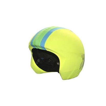 Coolcasc Foggy days Stripes helmet cover