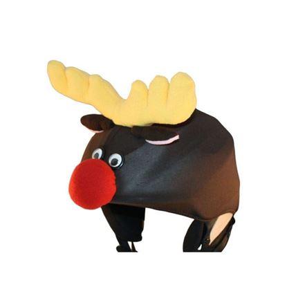 Reindeer Rudolf helmet cover