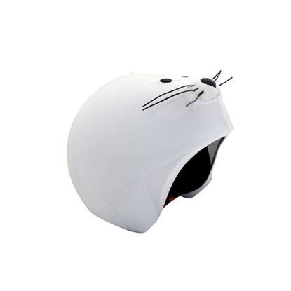 Coolcasc - Seal helmet cover 3/4 view