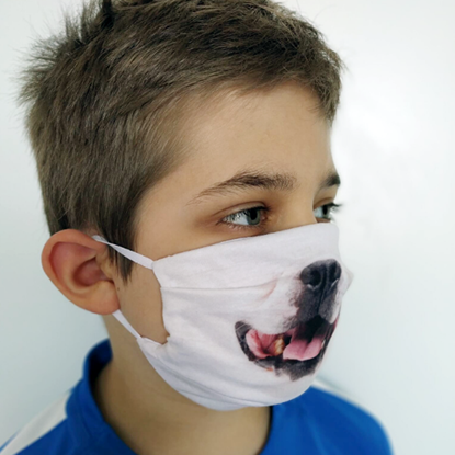 Evercover - DOGGY- REALISTIC DOG FACE MASK - CHILD