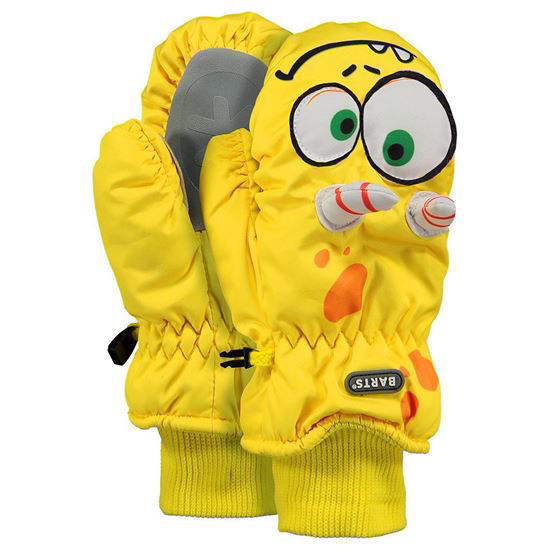 BARTS KIDS - Little Yellow Monster 3D Mitts