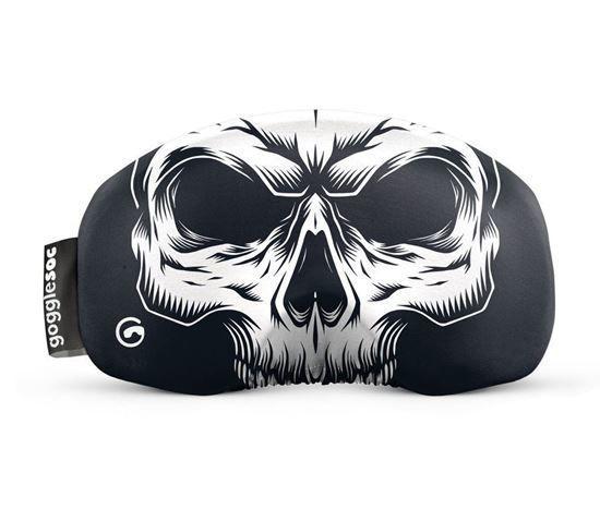 SKULL SOC The skull gogglesoc. Spooky.
