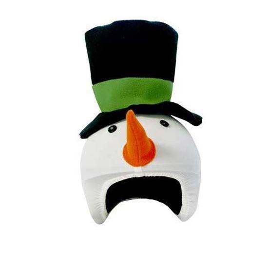 Coolcasc Snow man helmet cover