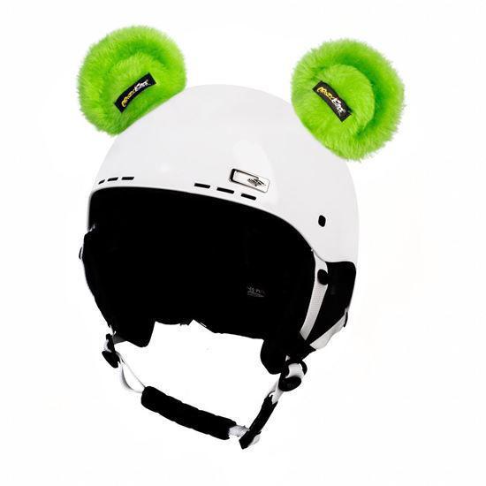 Crazy Ears Green Teddy Ears
