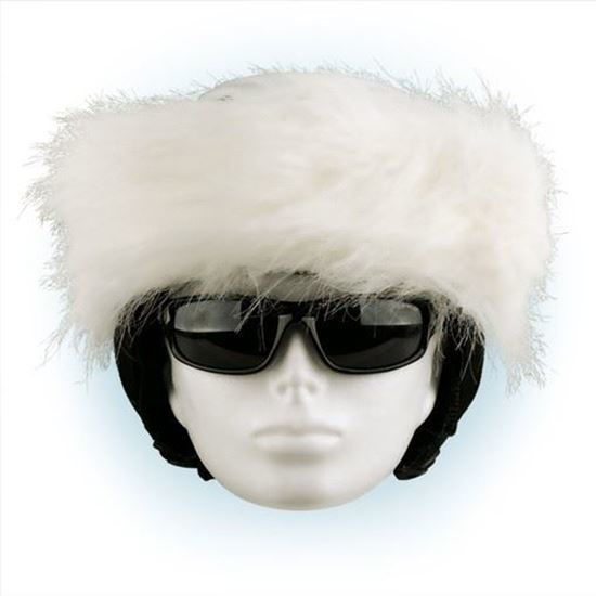 Picture of Crazy Ears - Helmet Band White
