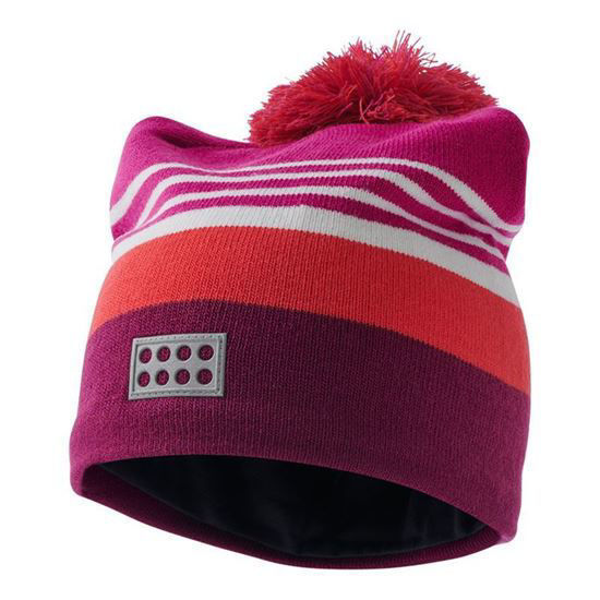 Lego wear knitted hat girls - back view