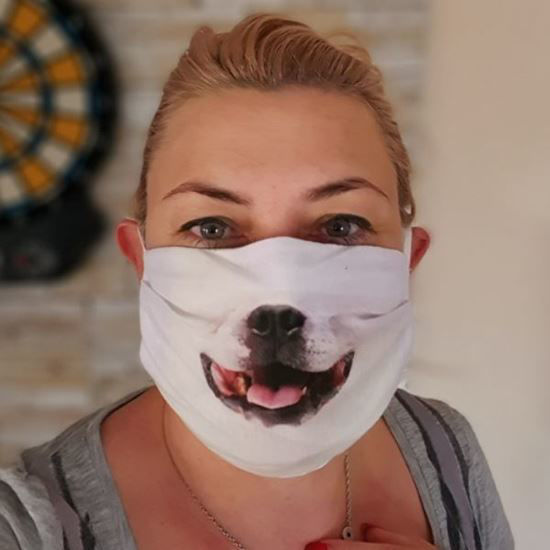 Evercover - DOGGY- REALISTIC DOG FACE