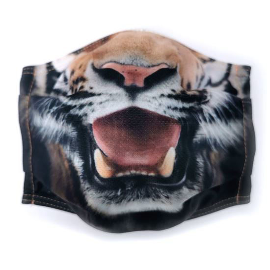 Evercover - Tiger REALISTIC CAT FACE MASK COVER