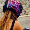 Graffiti Helmet Cover