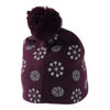 Lego wear Girls Knitted hat with reflective allover print