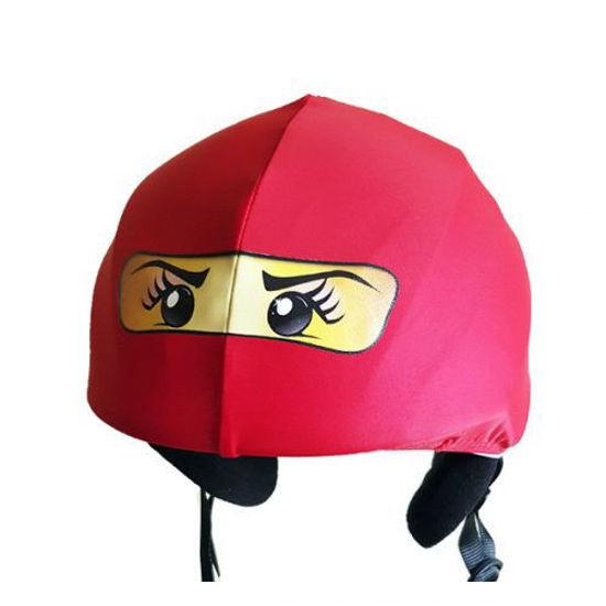 Evercover - Red Girl Ninja Helmet Cover