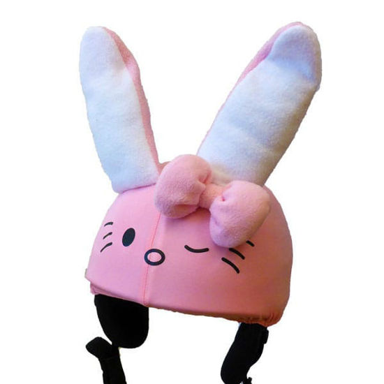 Kitty Bunny pink helmet cover