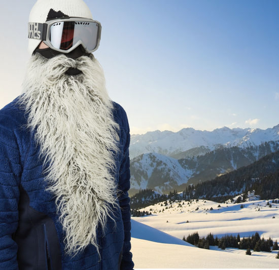 BeardSki Easy Rider Ski Mask