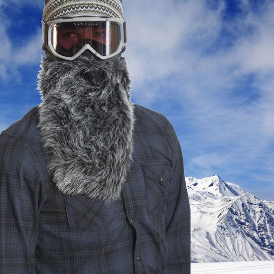 Beardski Wolf Ski Mask