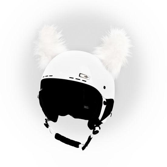 Crazy Ears Fluffy Horns -Yeti