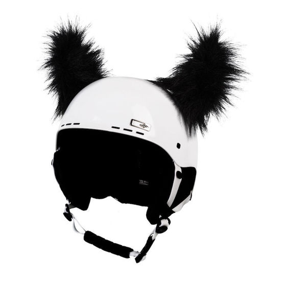 Crazy Ears Fluffy Horns - Black