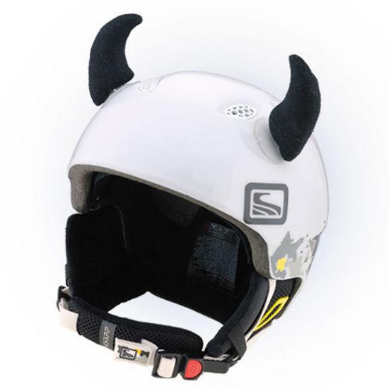 Crazy Ears Devil Horns - Black