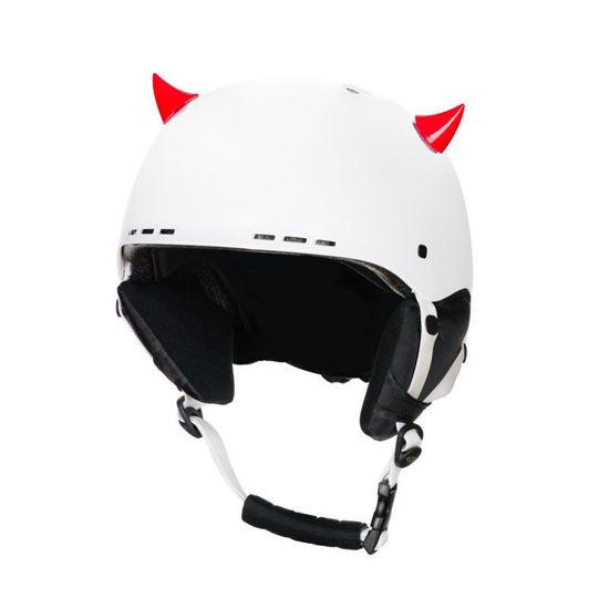 Crazy Ears Devil Horns - Mini Red